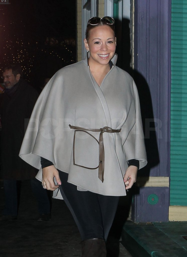 Mariah was all smiles in Aspen.