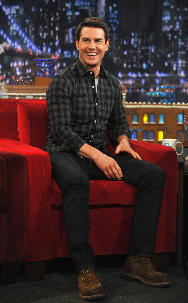 Tom Cruise hit the late-night circuit to promote Ghost Protocol.