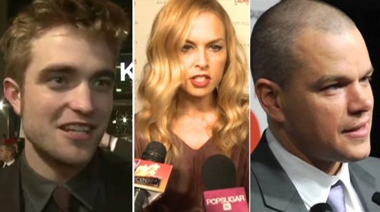 Video: How Robert Pattinson, Matt Damon, and More Stars Are Celebrating the Holidays