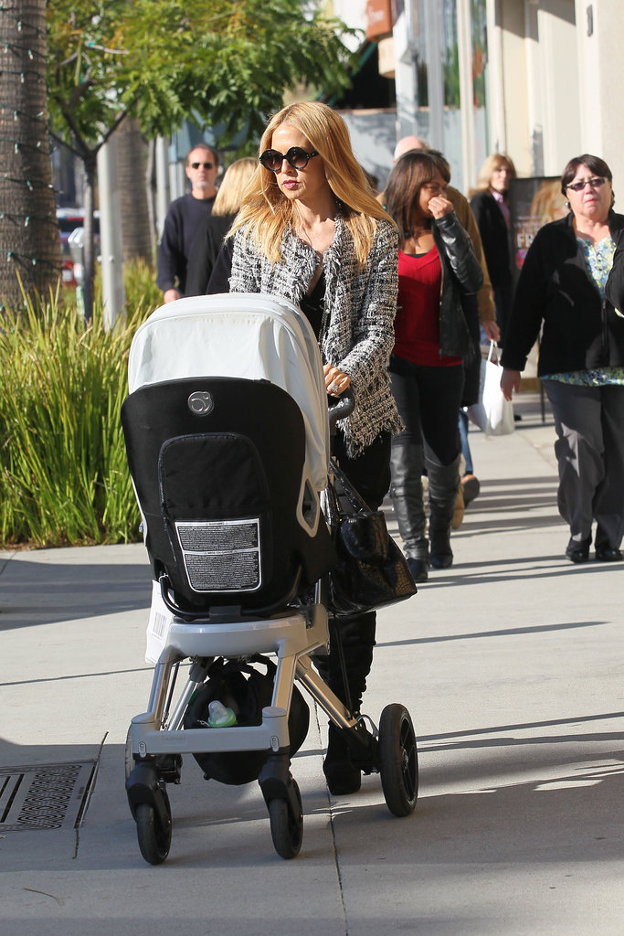 Rachel Zoe enjoyed a day in the sun with her family.