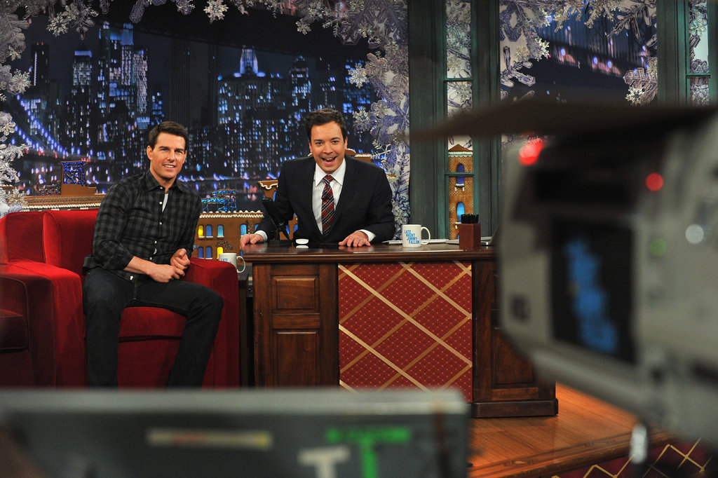 Jimmy Fallon had Tom Cruise as a guest on his show.