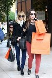 Nicole Richie did holiday shopping at Hermès.