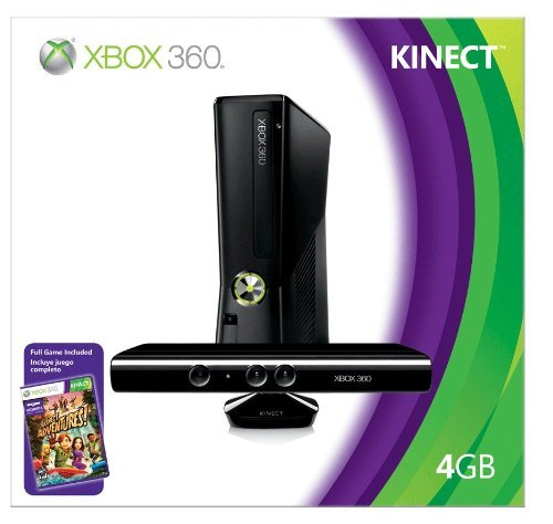 Xbox 360 With Kinect ($300)