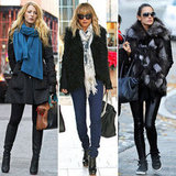 Celebrities Winter Style 2011