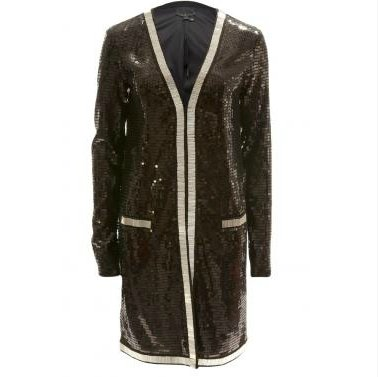 Layer this one over a white tank and flares for the effortless, Rachel Zoe-inspired approach to glam. Rachel Zoe Linda Long Sequined Jacket ($550)