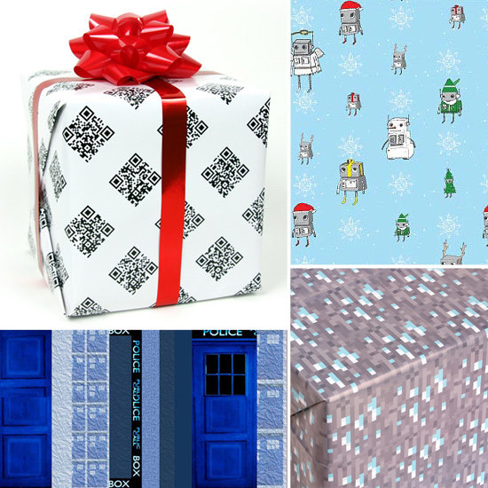 Wrapping Paper For a Truly Geeky Holiday