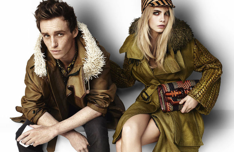 Actor Eddie Redmayne stars in Burberry's Spring 2012 ads. Source: Fashion Gone Rogue
