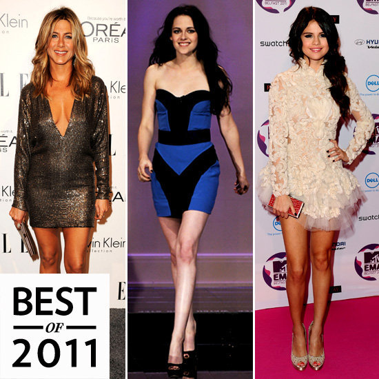 Our Best of 2011 coverage is well underway. Make sure to catch up on all the year's top highlights including the sexiest minidresses on the red carpet!
