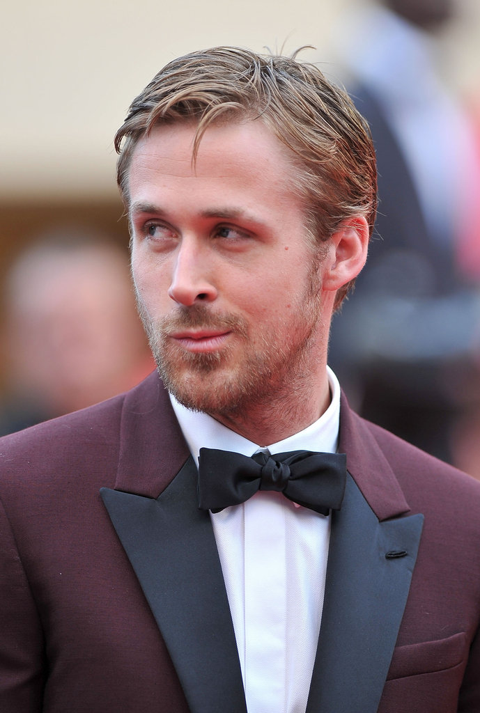 Ryan makes an adorable face at the Cannes Film Festival.