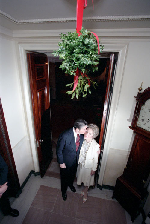 Nancy Reagan, 1984