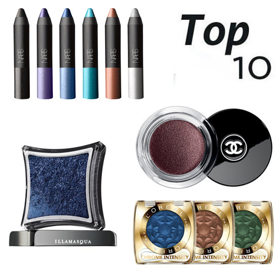 10 of the Best: Metallic Shadows to Make Your Peepers Pop