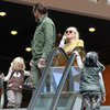 Gwen Stefani, Gavin, Zuma, and Kingston Pictures at Movies