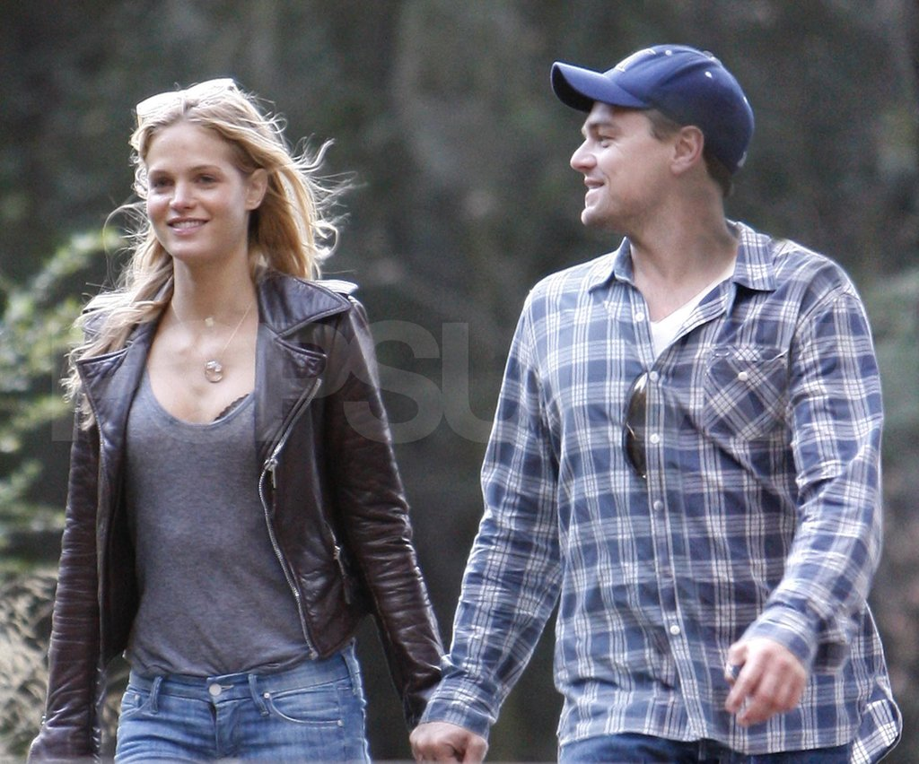 Leonardo DiCaprio with Victoria's Secret model girlfriend Erin Heatherton.