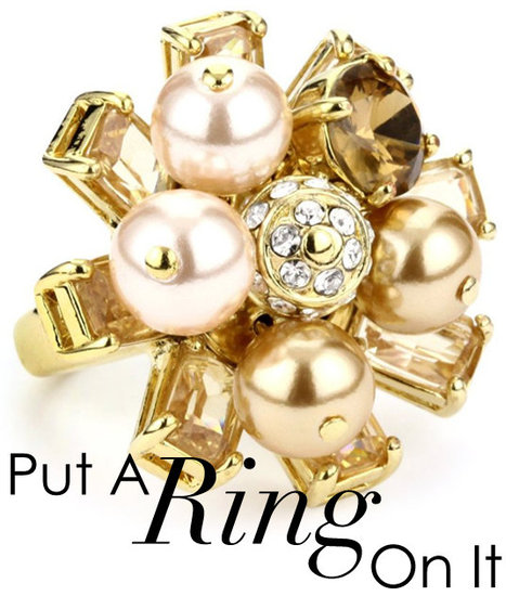 Cocktail Hour — 16 Gorgeous Statement Rings