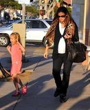 Jennifer Garner and Violet took a late afternoon walk in LA.