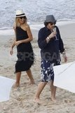 Rachel Zoe and Baby Skyler Have a St. Barts Beach Moment With Shirtless Marc Jacobs