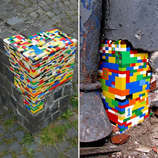 lego street art popsugar tech
