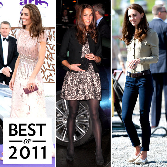 Kate Middleton 39 S Style In 2011 Popsugar Fashion