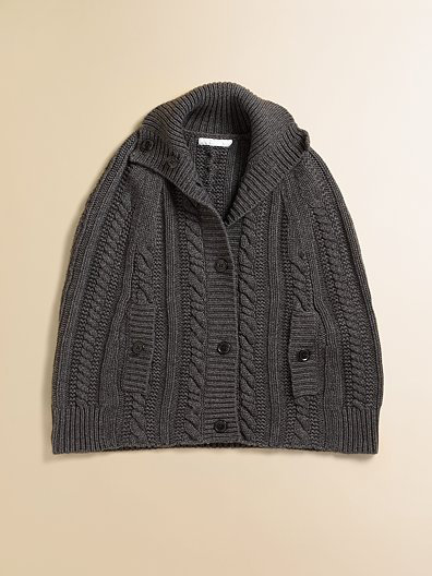 Burberry Cabled Poncho ($164.50)