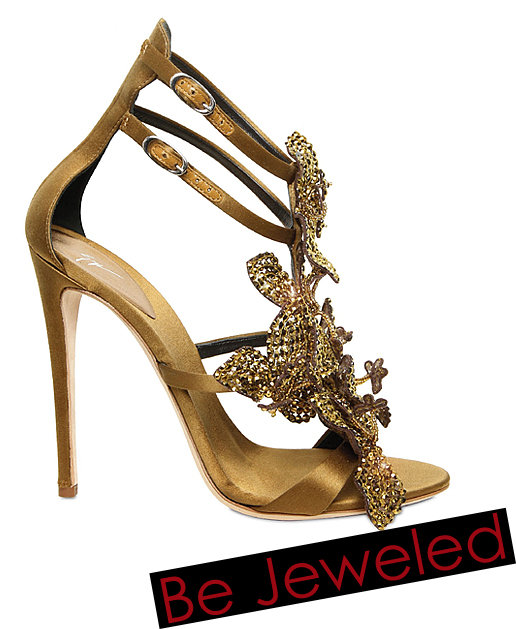 Shop Holiday and Evening Shoes from Lanvin, Valentino, Kate Spade, Miu Miu - Holiday 2011