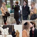 Sienna and Tom Keep Each Other Warm During a PDA-Filled Paris Getaway