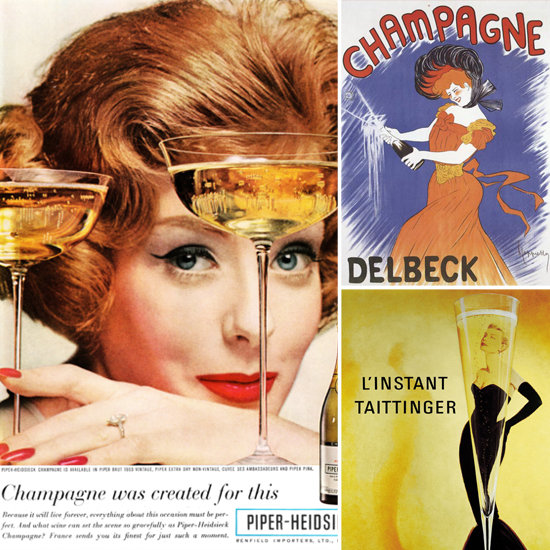 Toast the New Year With the Women of Vintage Champagne Ads