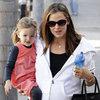 Pregnant Jennifer Garner With Seraphina Affleck Pictures