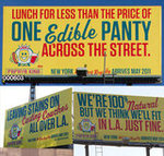Papaya King Billboards