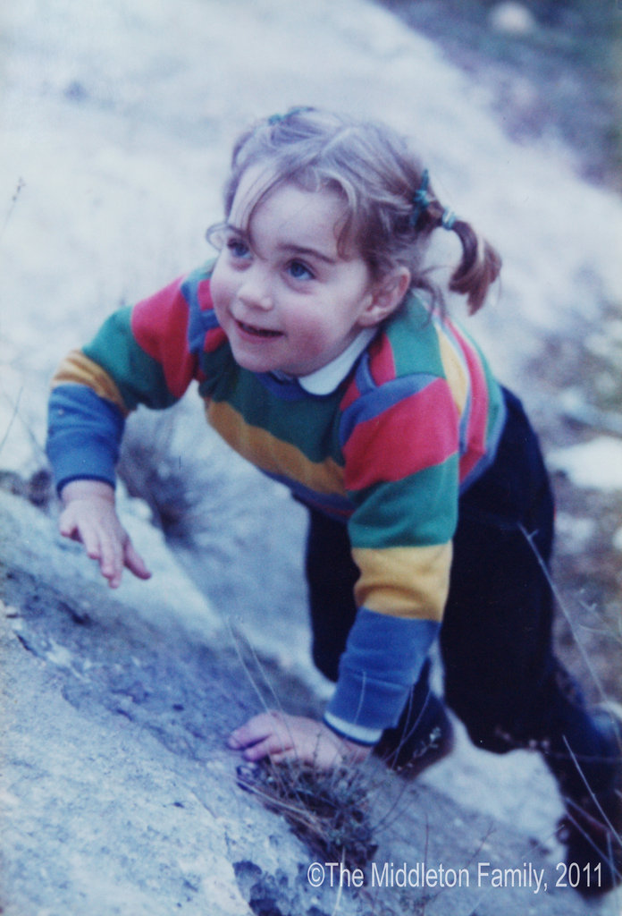 Kate Pictured Aged Three