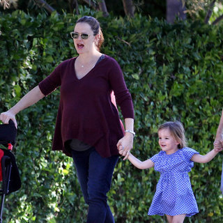 Jennifer Garner and Ben Affleck Spend New Year's Day in LA