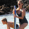 Reese Witherspoon Wearing a Bathing Suit in Hawaii