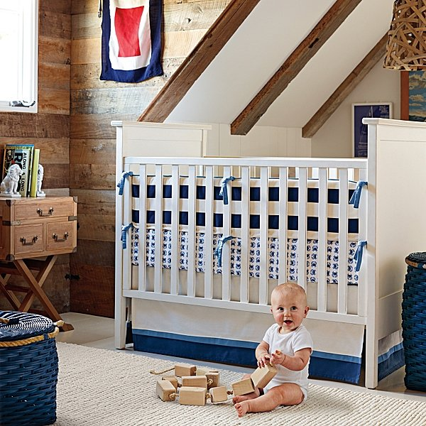 Serena and Lily James Crib Set ($325)