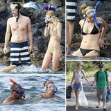 Shirtless Donald and Zach Explore the Great Outdoors With Their Bikini-Clad Loves