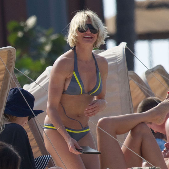 Cameron Diaz was all smiles in Hawaii.