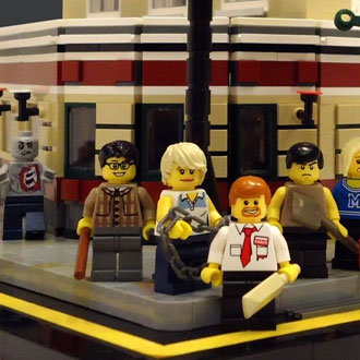 Shaun of the Dead LEGO Picture