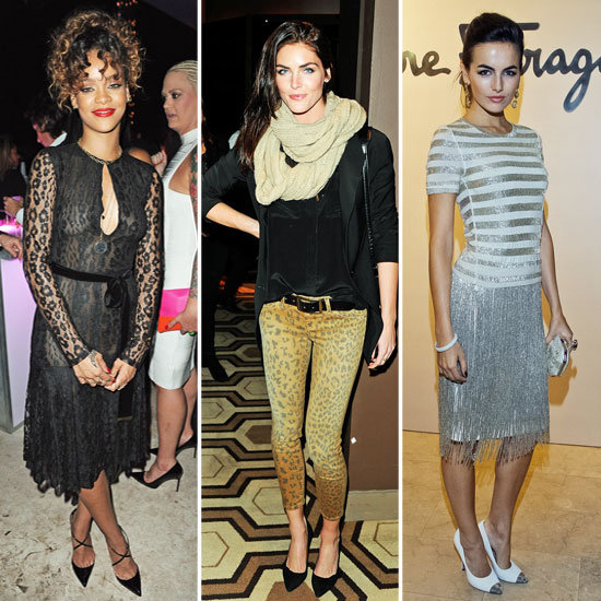 Celebrity Accessory Report: Pointy-Toe Pumps