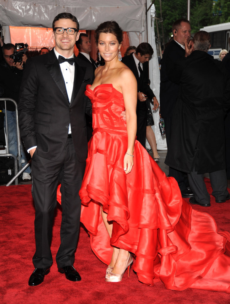 Jessica Biel and Justin Timberlake were a stunning pair at the 2009 Met Ball.