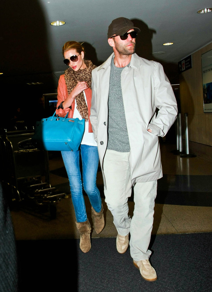 In Love With . . . Rosie Huntington-Whiteley's Neutral Booties