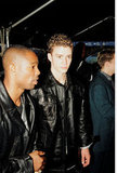 JT arrived at the 1999 MTV Video Music Awards.
