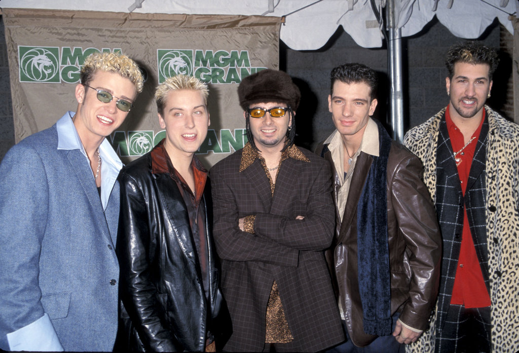 *NSYNC attends the 1998 Billboard Music Awards.