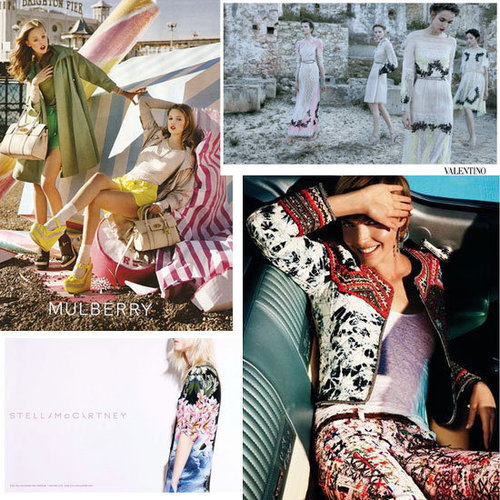 Spring Summer 2012 Campaign Round Up: Best of the Rest From Isabel Marant, Mulberry, Dolce & Gabbana, Gucci, Fendi & More!