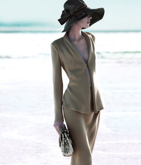 Giorgio Armani Spring 2012 Ad Campaign