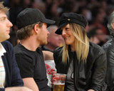 Drew Barrymore couldn't take her eyes off Will Kopelman during a March 2011 Lakers game.