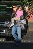 Jennifer Garner was out and about with Seraphina.