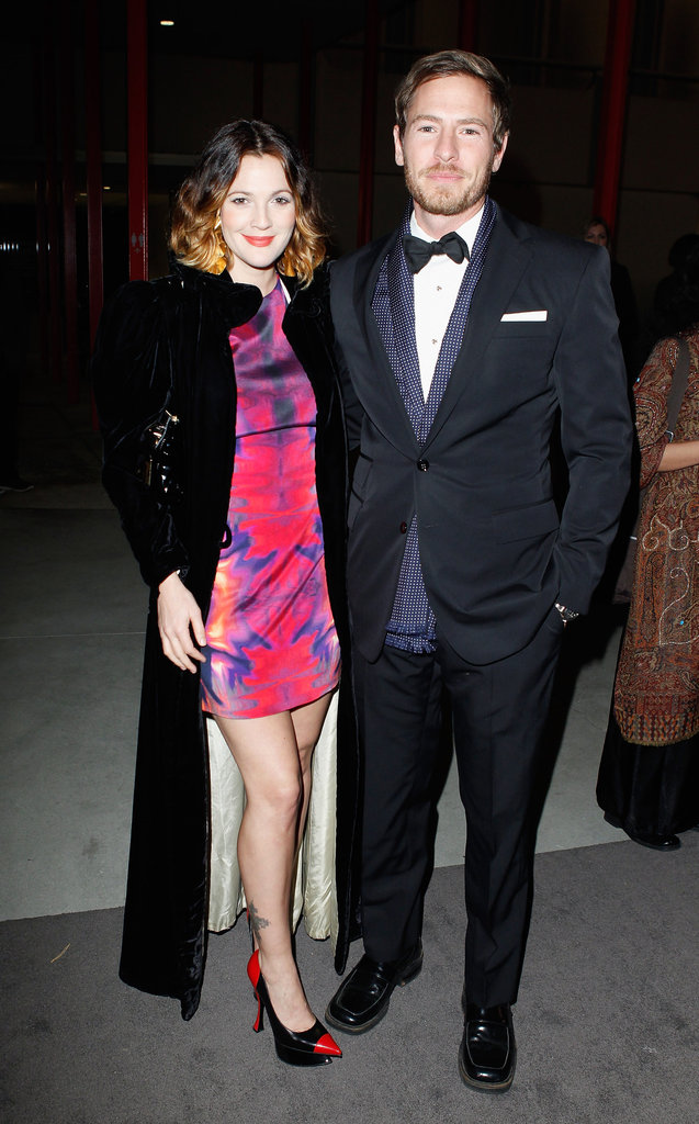 Drew Barrymore and Will Kopelman stepped out in their finest black tie attire for the LACMA Art + Film Gala honoring Clint Eastwood and John Baldessari in November 2011.