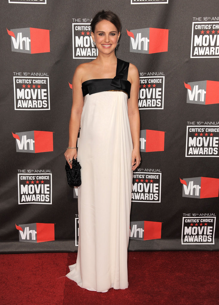 Natalie Portman wore Gianfranco Ferre in 2011.