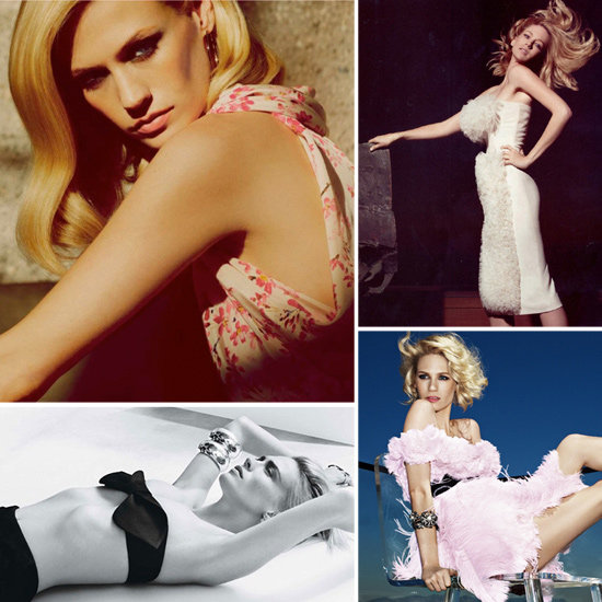 25 of January Jones's Most Sizzling Editorials