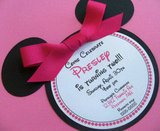 Minnie Mouse Birthday Invitations ($30 For 12)
