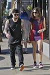 Benji Madden and Eliza Doolittle at Gjelina
