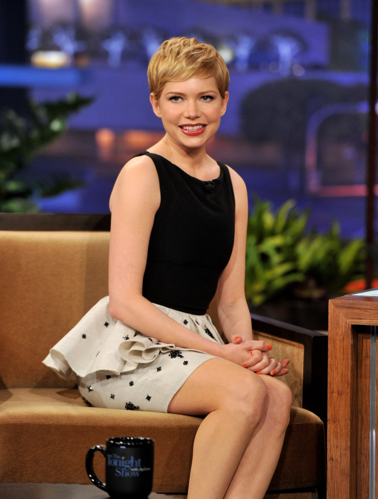 Michelle Williams folded her hands in her lap.